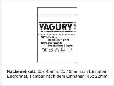 Umlabelung Textilien, Etiketten auswechseln