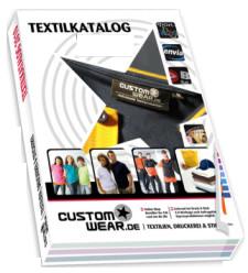 Textil katalog bestellen customwear gmbh textilien for Aquarium katalog kostenlos bestellen